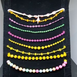 Bundle of 9 Girls Necklaces